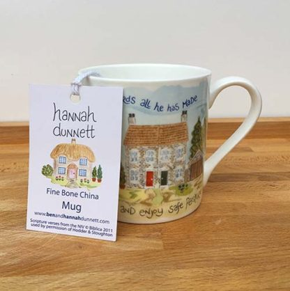 Hannah Dunnett Trust in The Lord China Mug