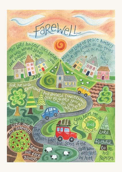 farewell card  ben and hannah dunnett