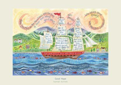 Hannah Dunnett Good Hope art poster