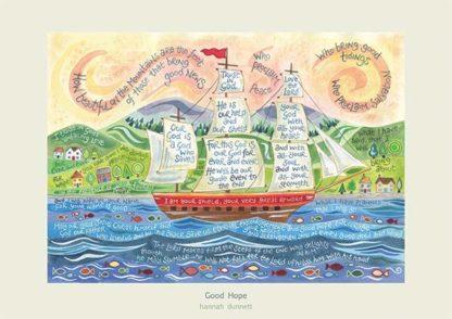 Hannah Dunnett Good Hope poster and greetings card