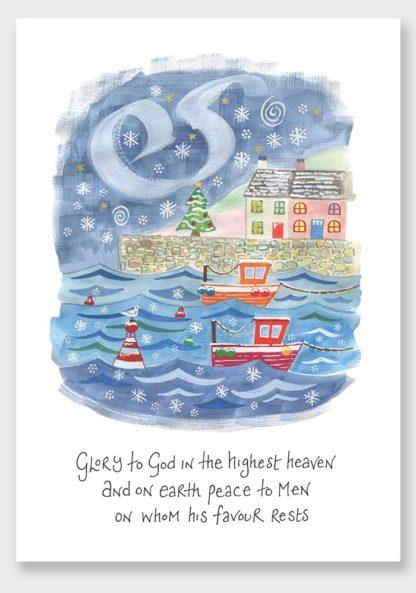 Hannah Dunnett Peace On Earth Christmas Card