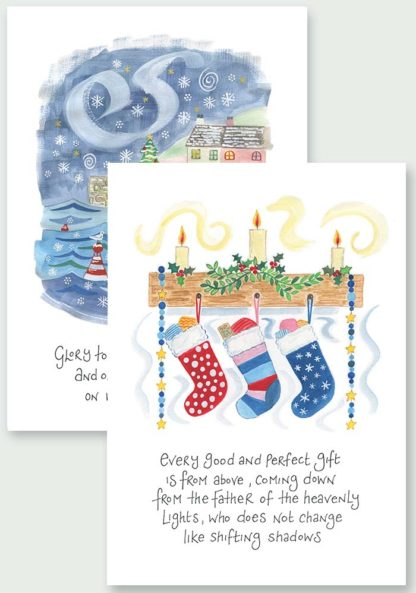 Hannah Dunnett Peace On Earth and From The Father Christmas Cards