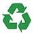 Hannah Dunnett reusable mug recycled sign