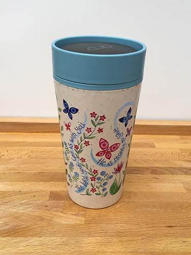 Hannah Dunnett reusable mug