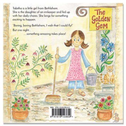 Tabitha kids book by Hannah Dunnett back cover image