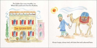 Tabitha kids book by Hannah Dunnett pages 3 and 4 preview image