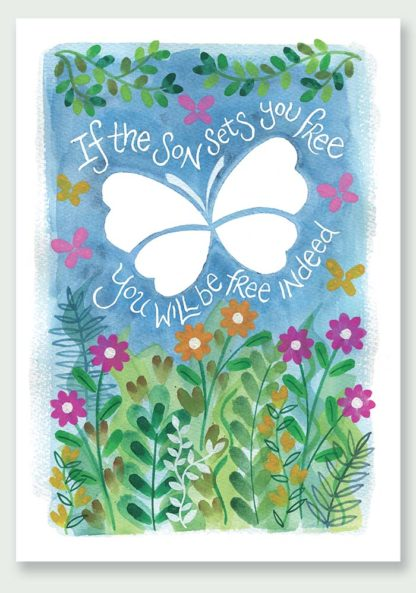 Hannah Dunnett Free Indeed Notecard