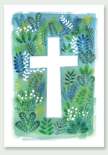 Hannah Dunnett The Cross Notecard