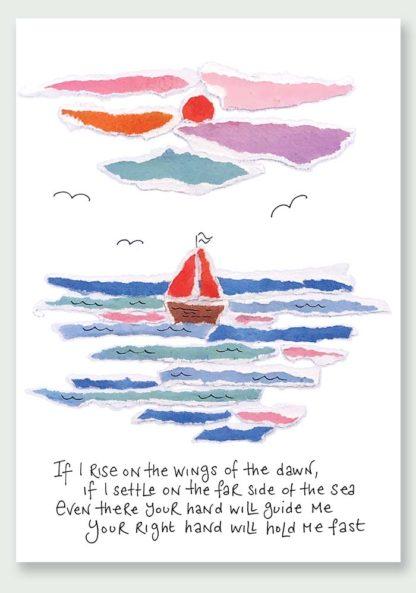 Hannah Dunnett Wings of The Dawn Notecard