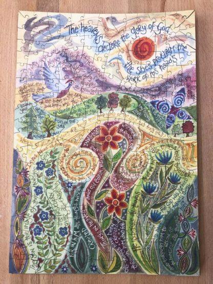 Hannah Dunnett The Work of His Hands Jigsaw
