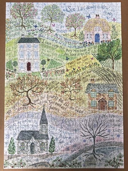 Hannah Dunnett Times and Seasons Completed Jigsaw 1000 pieces