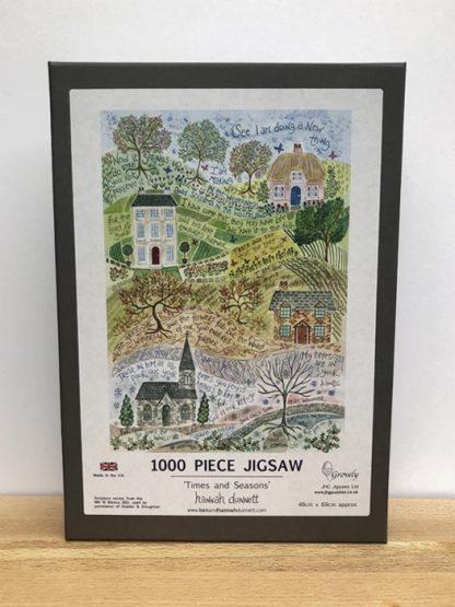 Hannah Dunnett Times and Seasons Jigsaw 1000 pieces main image