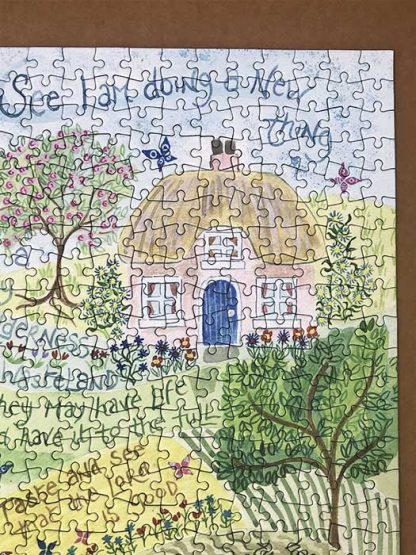Hannah Dunnett Times and Seasons Jigsaw corner image