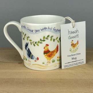 Hannah Dunnett Under His Wings Mug