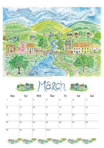 Hannah Dunnett 2021 Calendar March
