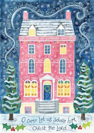 Hannah Dunnett Comfort and Joy Christmas card