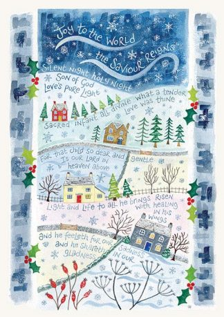Hannah Dunnett Light and Life Christmas card
