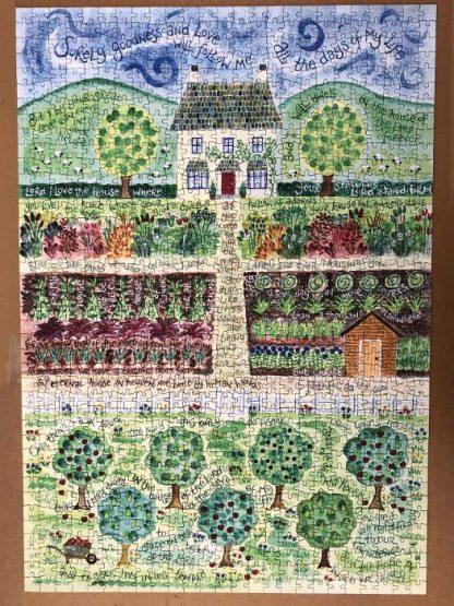Hannah Dunnett Goodness and Love Finished Jigsaw