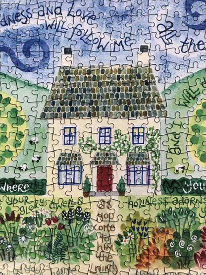 Hannah Dunnett Goodness and Love close up Jigsaw image