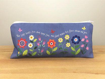 Hannah Dunnett His Compassions Never Fail Pencil case rear view