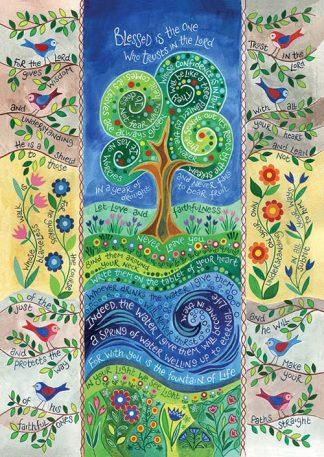 Hannah Dunnett Living Water Poster