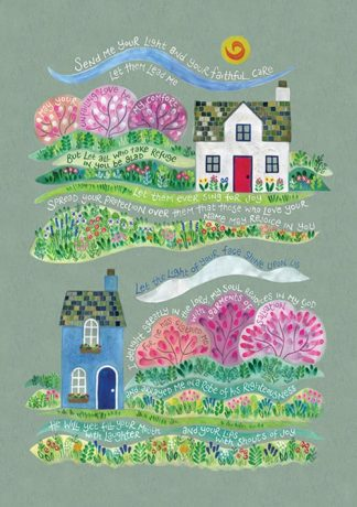 Hannah Dunnett Your Faithful Care Greetings card and poster