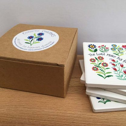 Hannah Dunnett Bless You and Keep You coasters gift box image