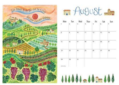 Hannah Dunnett 2022 Calendar August