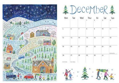 Hannah Dunnett 2022 Calendar December