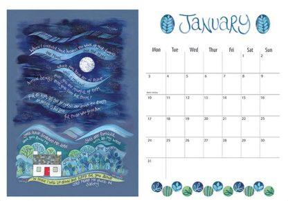 Hannah Dunnett 2022 Calendar January