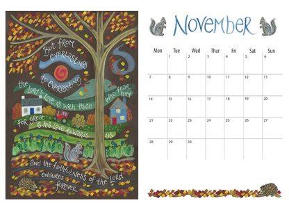 Hannah Dunnett 2022 Calendar November