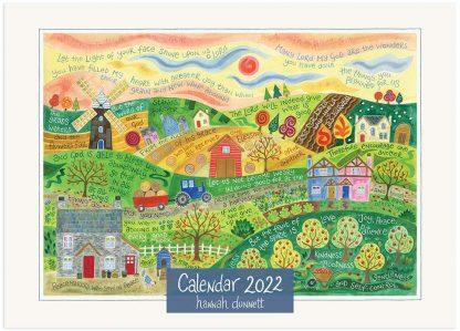 Hannah Dunnett 2022 Calendar cover
