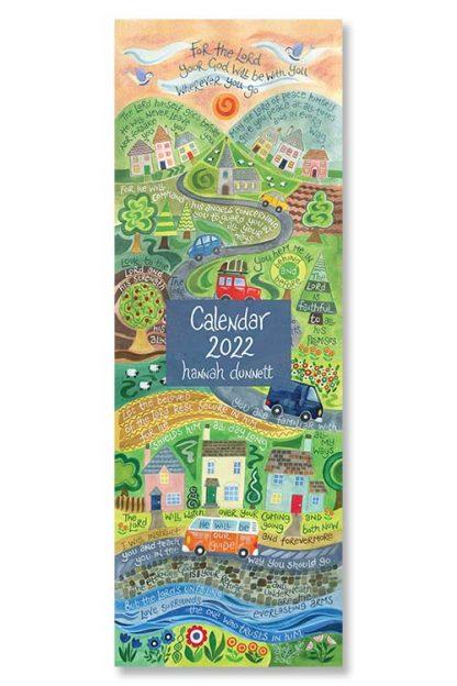 Hannah Dunnett 2022 Slimline Calendar Cover image