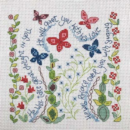 Hannah Dunnett Great Delight Cross Stitch Kit