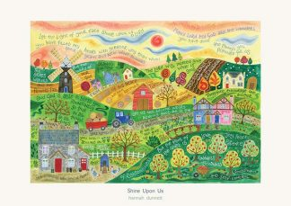 Hannah Dunnett Shine Upon Us greetings card and poster