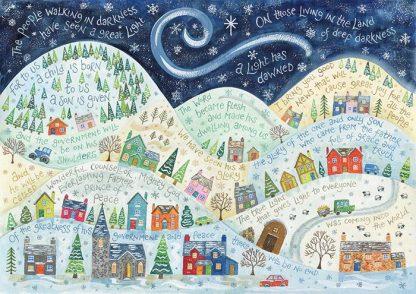 Hannah Dunnett A Light Has Dawned Christmas Card