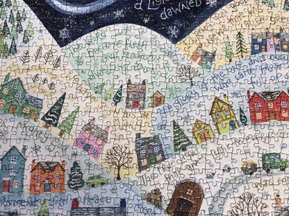 Hannah Dunnett A Light Has Dawned Close Up Jigsaw image
