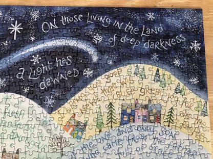 Hannah Dunnett A Light Has Dawned Corner Close Up Jigsaw image