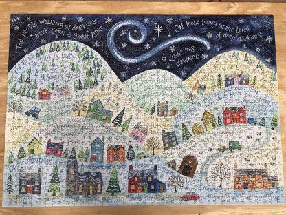 Hannah Dunnett A Light Has Dawned Finished Jigsaw
