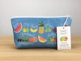 Hannah Dunnett Fruit of the Spirit cosmetic bag