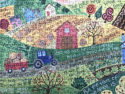 Hannah Dunnett Shine Upon Us Close Up Jigsaw image