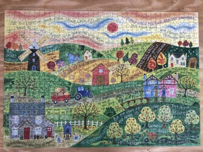 Hannah Dunnett Shine Upon Us Finished Jigsaw